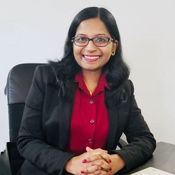Seema Chandrasekharan B.Com & MBA (Finance)